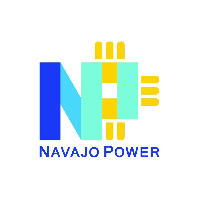 Logo for Navajo Power