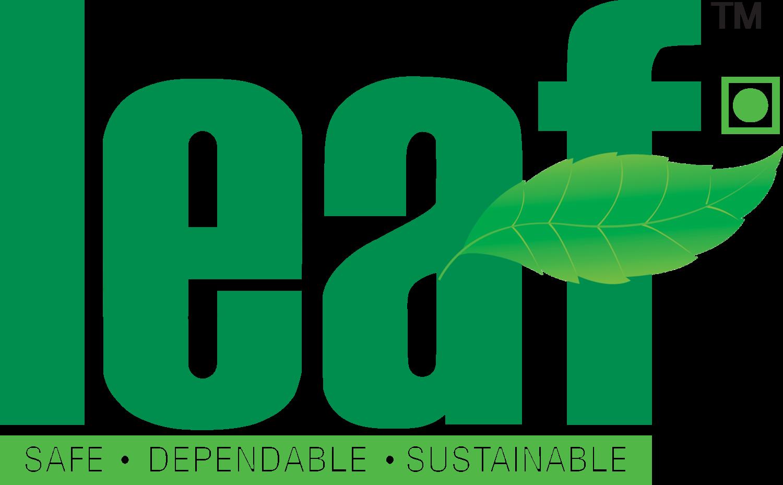Logo for LEAF