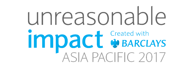 Unreasonable Impact Asia Pacific 2017