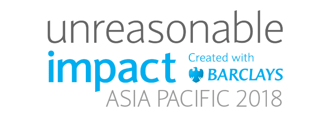 Unreasonable Impact Asia Pacific 2018